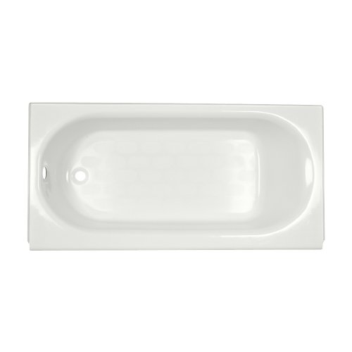 American Standard 2390.202Ich.020 Princeton Recess 5 Feet Left-Hand Bathtub With Integral Overflow, White front-985589