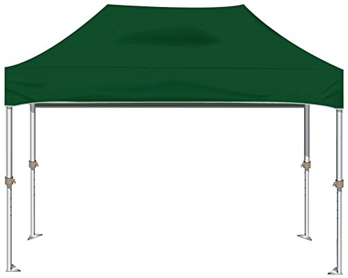 Kd Kanopy Xtf150G Xtf Aluminum Frame Indoor/Outdoor Portable Canopy, 10 By 15-Feet, Green