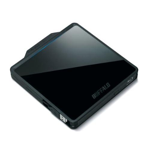 BUFFALO BDXL対応 USB2.0用 ポータブルブルーレイドライブ BRXL-PCW6U2-BK