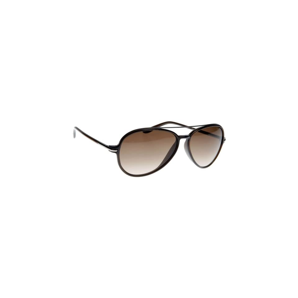 850336fd0bc Tom Ford 0149 Ramone Silver   Brown Frame Brown Gradient Lens Plastic  Sunglasses
