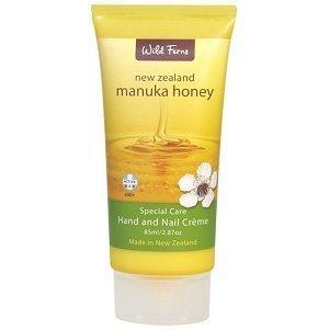 Wild Fern Manuka Honey Hand and Nail Cream 85ml