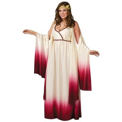 Venus Goddess of Love Costume - Plus Size 1X/2X - Dress Size 16-20