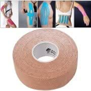 Waterproof Sports Safety Kinesiology Kinesio Tape Bandage, Size: 5m(L) x 2.5cm(W) (Apricot)