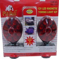 New Pit Bull CHIL003 Pit Bull CHIL003 12V LED Magnetic Towing Light Kit Set of Tow Brake Lights