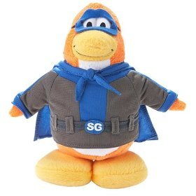 Picture of Jakks Pacific Disney's Club Penguin Plush Figure - Series 2 - SHADOW GUY (B001J9PCOU) (Jakks Pacific Action Figures)