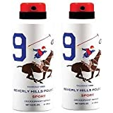 Beverly Hill Polo Club Deodrant Combo Of Any Variant Of Sports Body Spray (175ml X 2) (sport9)