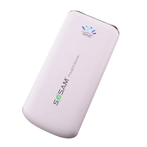 Led Light Speaker Mobile Power Hight Capacity 10000Mah Polymer Lithiium-Ion Power Bank Or Travel Chargers Pack Color White