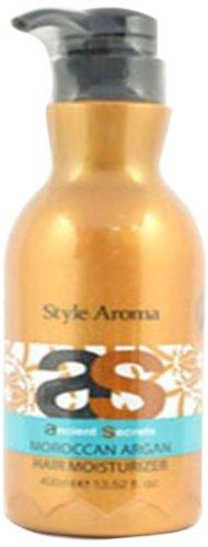 スタイルアロマ エンシェント シークレッツ &K モロッカンアルガン ヘアモイスチャライザー 400ml Style Aroma スタイルアロマ トリートメント 洗い流さないタイプ