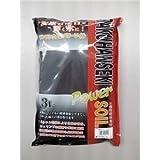 ソネケミファ 麦飯石パワーソイルパウダー 黒 3L【ペット用品】【水槽用品】