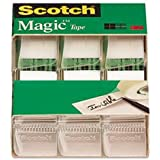Scotch Magic Tape , 3/4 x 300 Inches, 18 ROLLS