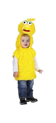 Sesame Street big Bird Vest Toddler Costume