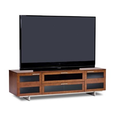 Cheap Avion II 77″ TV Stand in Natural Stained Cherry (8929CH)