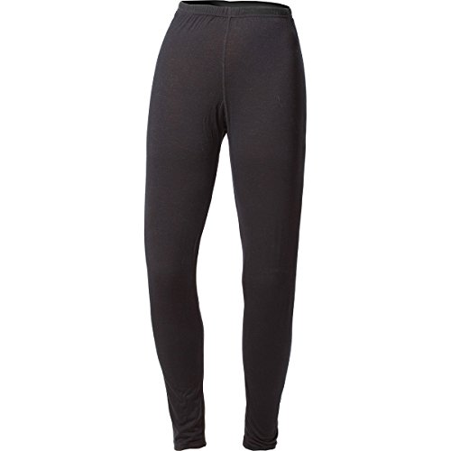 Minus33 100% Merino Wool Base Layer Midweight Black Bottoms (Small)