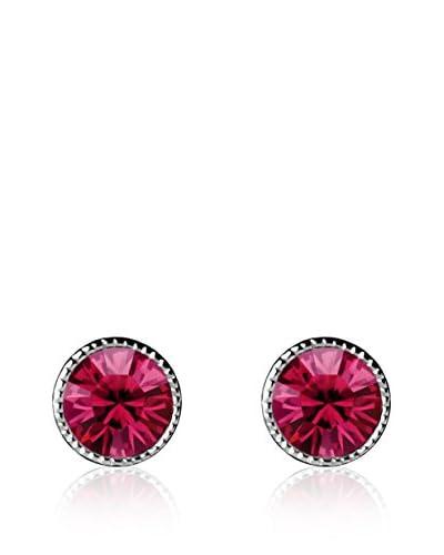 Absolute Crystals Orecchino Mini Dot Vinaccia