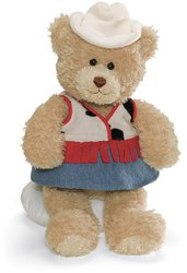 Gund Career and Lifestyle Bear - Cowgirl - 1