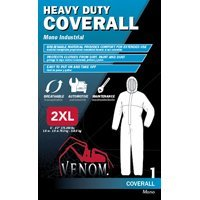 Venom Heavy Duty Coveralls, XX-Large