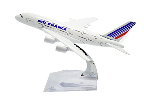 TANG DYNASTY(TM) 1:400 16cm Air Bus A380 Air France Model Plane Toy Plane Model (Air France Model compare prices)