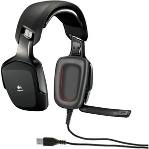 Logitech G35 Surround Sound Headset. G35 Usb Gaming Headset Headst. Wired Connectivity - Surround - Over-The-Head