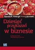 img - for Dziesiec przykazan w biznesie book / textbook / text book
