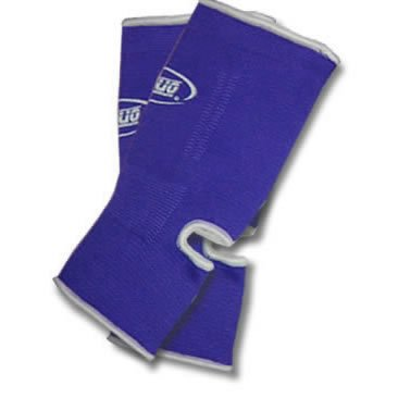 M BLUE DUO Muay Thai Kickboxing Ankle Support Anklets