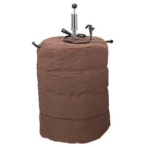 Brown Canvas Beer Keg Jacket