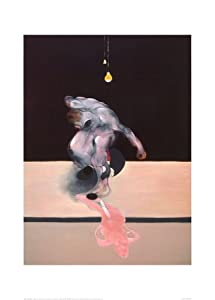 Triptych, c.1974 (center panel) Art Poster Print by Francis Bacon, 20x28