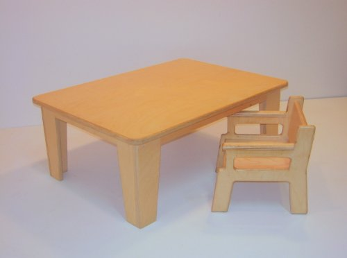 Baby Table & Chair Set **High chair alternative. Made in USA*
