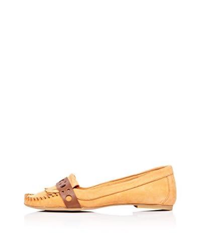 Bueno Shoes Mocasines Flecos