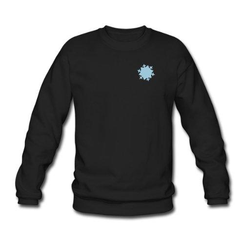 Spreadshirt, schnee6_1f, Men's Sweatshirt, black, XXL