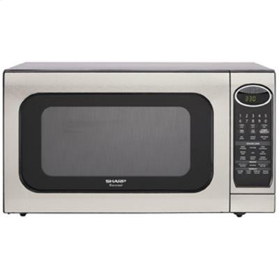 R520KST 2%2E0 cu%2E ft%2E Countertop Microwave Oven 1%2C200 Cooking Watts %2D Stainless Steel