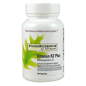 Foodscience Of Vermont Vitamin K2 Plus, Capsules 60 Ea