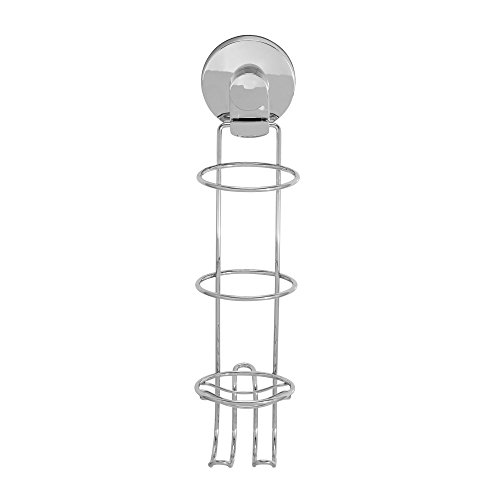 Everloc 99035 Chrome Xpressions Suction Cup Hair Straightener Holder