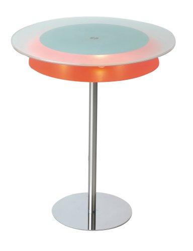 Adesso Blaze Light End Table, Steel