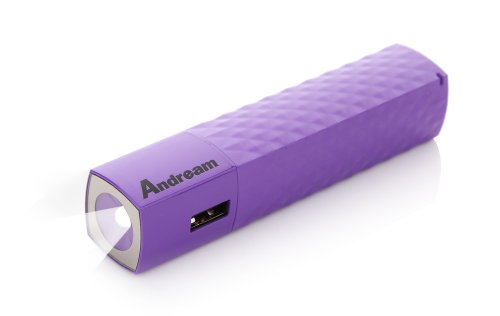 Andream 3000Mah Most Compact Charger With Original Samsung Battery Cell Inside Purple Ys1022133