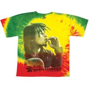 Bob Marley Men's Rasta Smoke Tie Dye T-shirt X-Large Tie-Dye (Tie Dye Men compare prices)