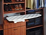 Foldable Shelf-mounted Ironing Board