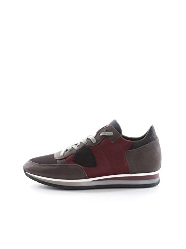 PHILIPPE MODEL PARIS TRLU WL49 WINE BLACK SNEAKERS Uomo WINE BLACK 44