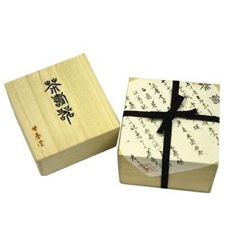 【京都・甘春堂】茶寿器(ちゃじゅのうつわ)・桐箱1個入り