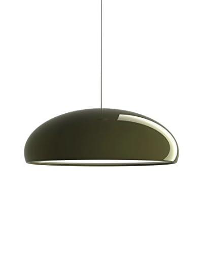 FontanaArte Lámpara De Suspensión Pangen Verde Ø 60 H 20 - max 320 cm