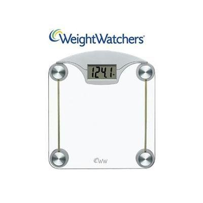 Cheap New Conair Weight Watchers Digital Glass Weight Scale Safety Tempered Glass Platform (B19WW39803A)