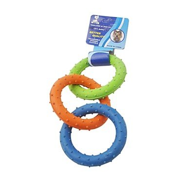 Connected Rings Chew Toy for Dogs