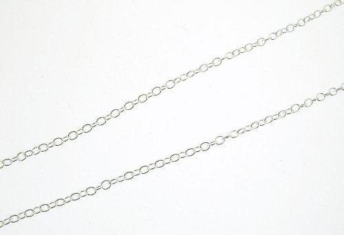 Silver Fine Plain Trace Chain