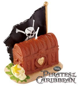 Pirates of the Caribbean 'On Stranger Tides' Cake Candle (1ct) - 1