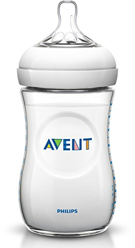 Philips Avent BPA Free Natural Polypropylene Bottle, 11 Ounce, 3-Count (Bpa Baby Bottles compare prices)