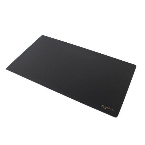 "Satechi Desk Mat & Mate 24"" X 14"" Desk Pad & Protector Mouse Pad For Desktops And Laptops (Black)"