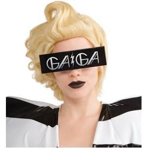 Lady Gaga Futuristic Visor Sunglasses