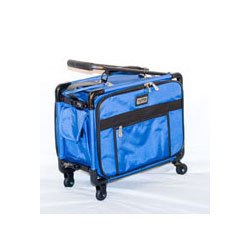 17 Tutto Small Carry-on Luggage On Wheels - Blue from tutto