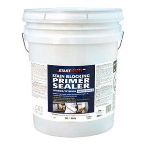true value srl1 5g start right white interior exterior latex stain blocking primer sealer 5. Black Bedroom Furniture Sets. Home Design Ideas