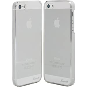Luvvitt® CRISTAL Hard Shell Anti-Scratch Transparent Case for iPhone 5 (Retail Packaging) - Crystal Clear