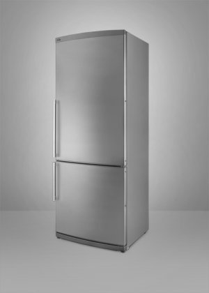 Summit : FFBF285SS 13.8 cu. ft. Counter-Depth Bottom-Freezer Refrigerator Stainless Steel w/o Ice
